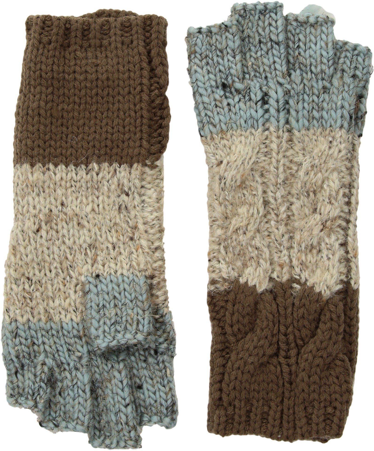 San Diego Hat Company Women's KNG3459 Fingerless Gloves Tan One Size