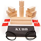 Kubb Viking Lawn Game Travel Size