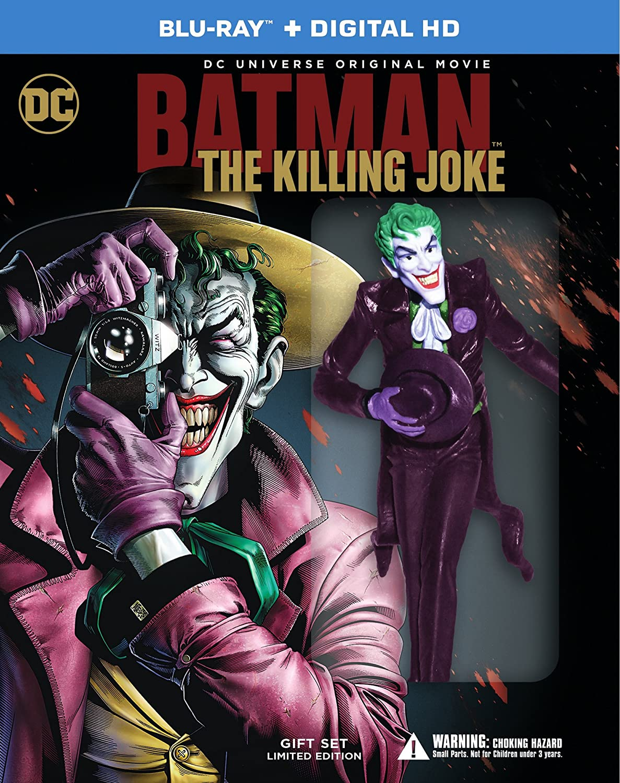 Batman The Killing Joke Includes Mini Figure Includes Digital Download Blu Ray Region Free Amazon Co Uk Sam Liu Brian Azzarello Dvd Blu Ray