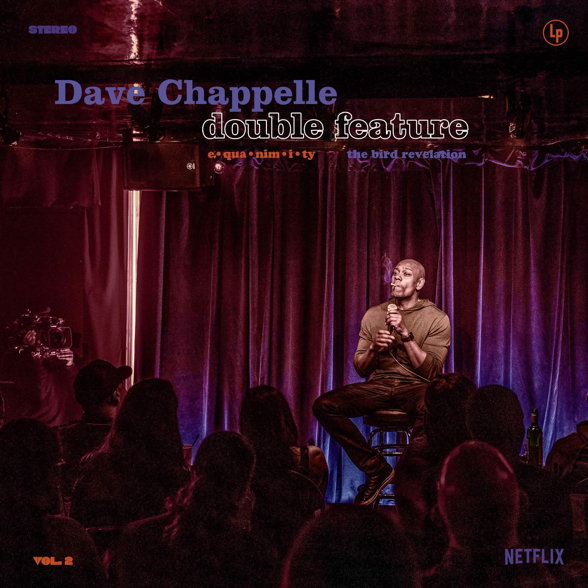 Vinilo : Dave Chappelle - Double Feature - Equanimity /  Bird Revelation (LP Vinyl)