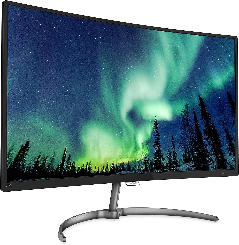Philips 278E8QJAB / 00 E-line Monitor LCD curvo de 27 pulgadas con ...