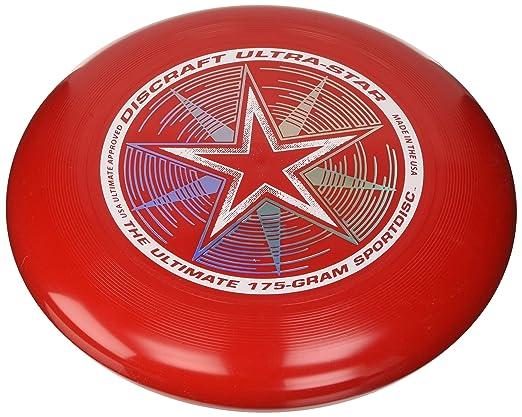39 opinioni per Discraft- Frisbee Ultrastar, Rosso, 175 g