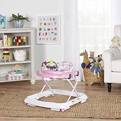 Dream On Me On-The-Go Activity Walker, Light Pink : Baby