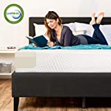 Best Choice Products 10in Queen Size Dual Layered Memory Foam Mattress w/CertiPUR-US Certified Foam