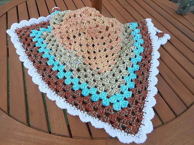Crocheted Dog Blanket For Pet Bed Sofa Or Car Pet Blanket Pet