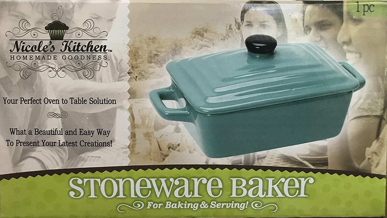 Amazon Com Nicole S Kitchen Stoneware Baker Kitchen Dining