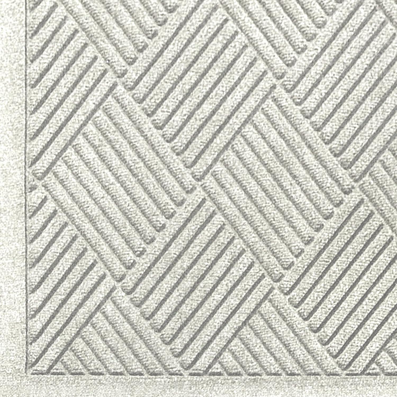 Andersen 221 Waterhog Fashion Diamond Polypropylene Fiber Entrance Floor Mat, Indoor/Outdoor, SBR Backing, 3-Feet Length X 2-Feet Width, 1/4-Inch Thick, Medium Brown SBR Rubber Backing 3' Length x 2' Width 3/8 Thick 221-151-3F2F