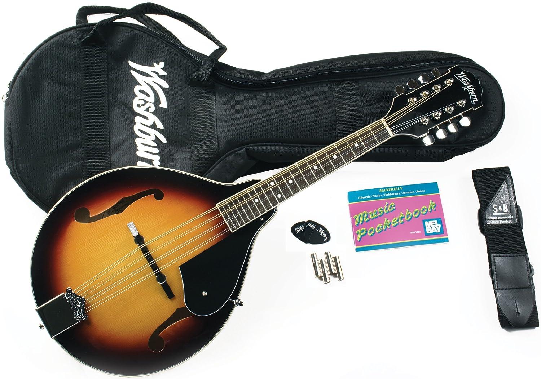 Amazon washburn m1k a style mandolin sunburst finish amazon washburn m1k a style mandolin sunburst finish musical instruments solutioingenieria Images