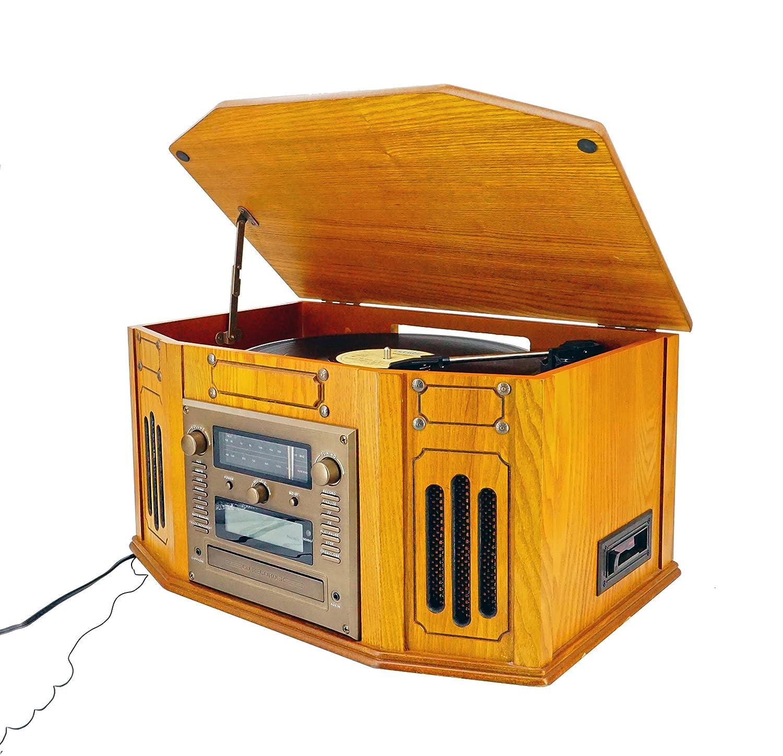 ABC home Electronics 30614 Nostalgie Equipo estéreo Radio ...