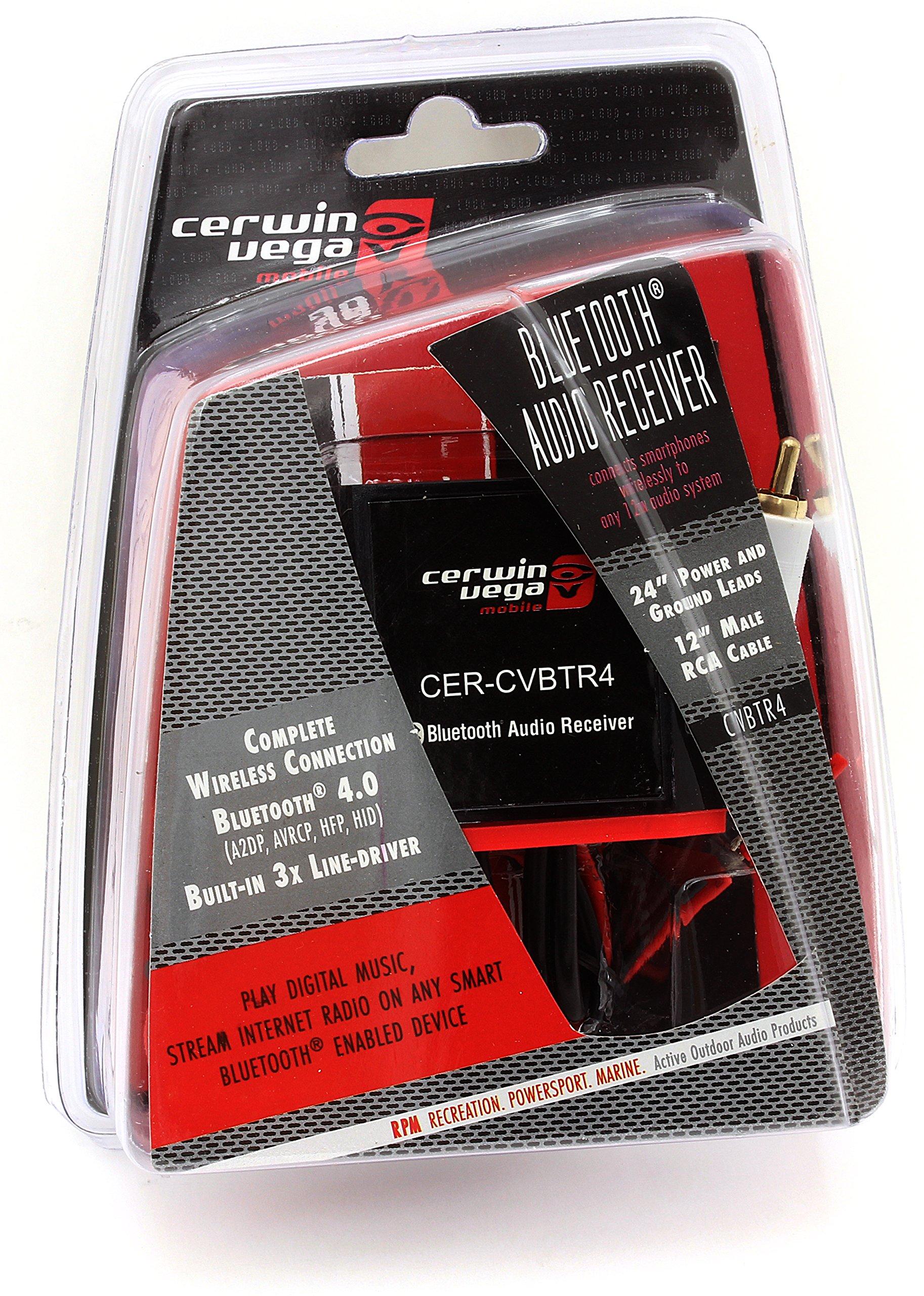 CVBTR4 - Cerwin Vega Universal Bluetooth Audio Receiver