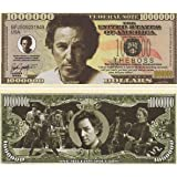 """Bruce Springsteen """"The Boss"""" $Million Dollar Novelty Bill Collectible In Collector Grade Currency Holder"""