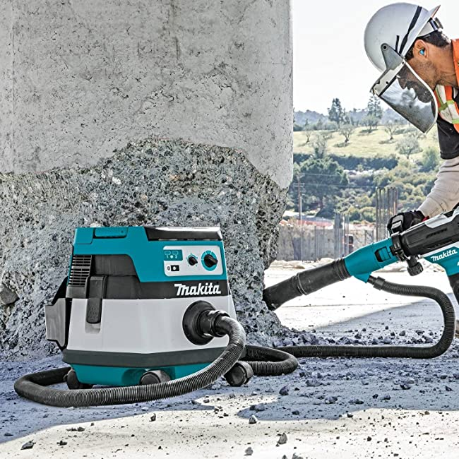 Use a dust extractor kit when drilling