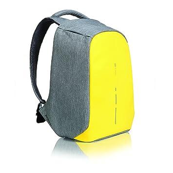 09b5d7d2a7 XD Design Bobby Compact Mochila Antirrobo Portátil Amarillo (Bolsa USB)   Amazon.es  Equipaje