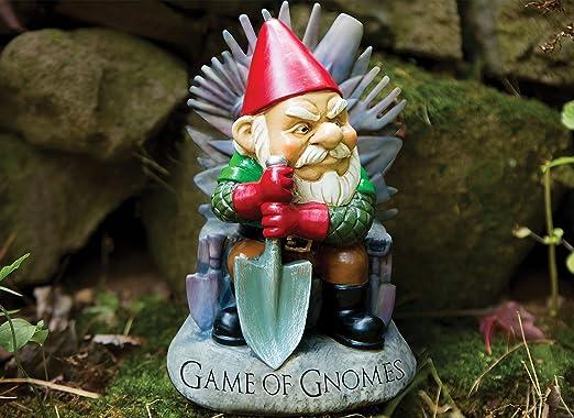 Big Mouth Inc Game Of Gnomes Garden Gnome