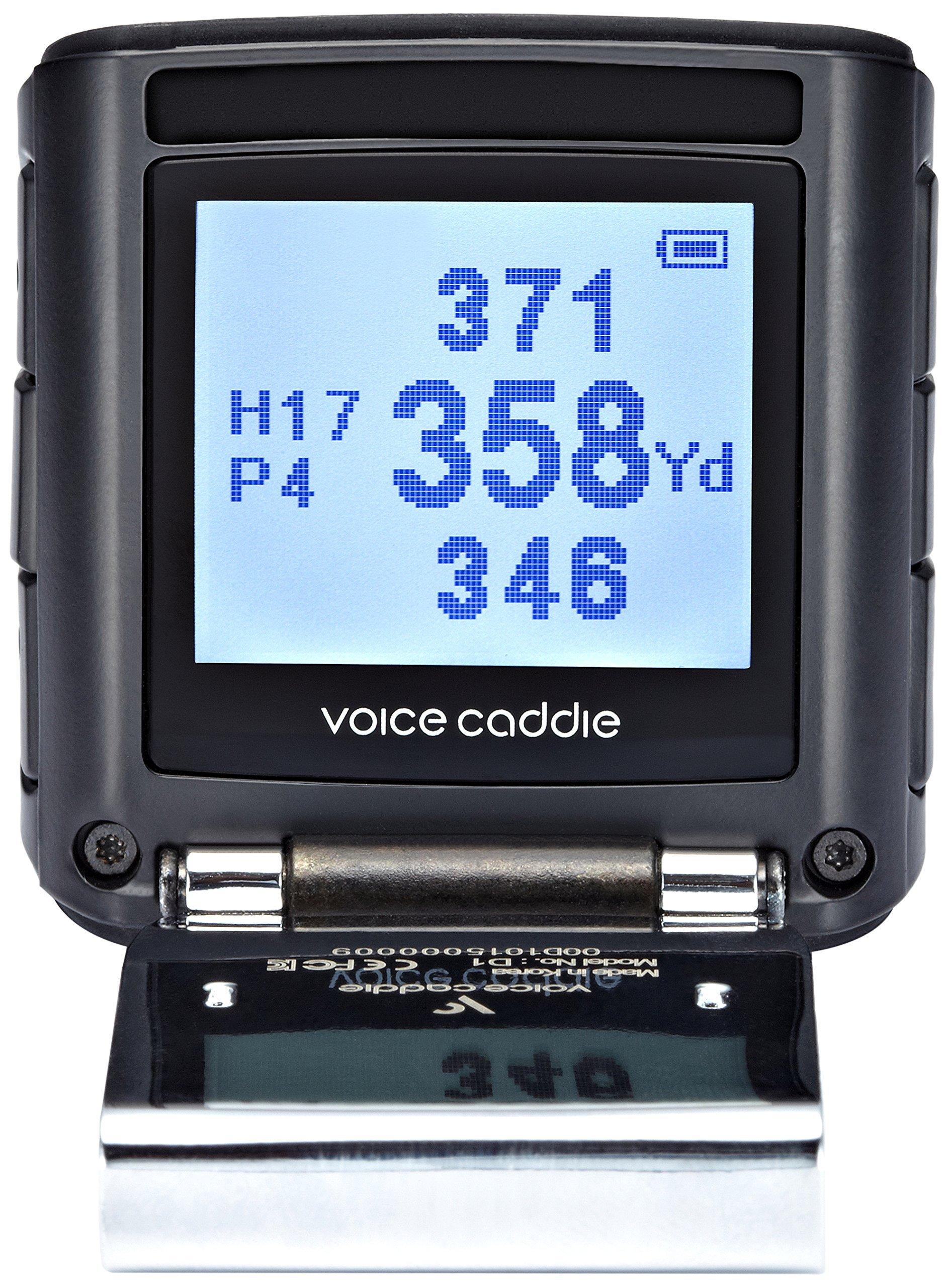 Voice Caddie D1 + Screen Golf GPS Rangefinder, Black by VOICE CADDIE