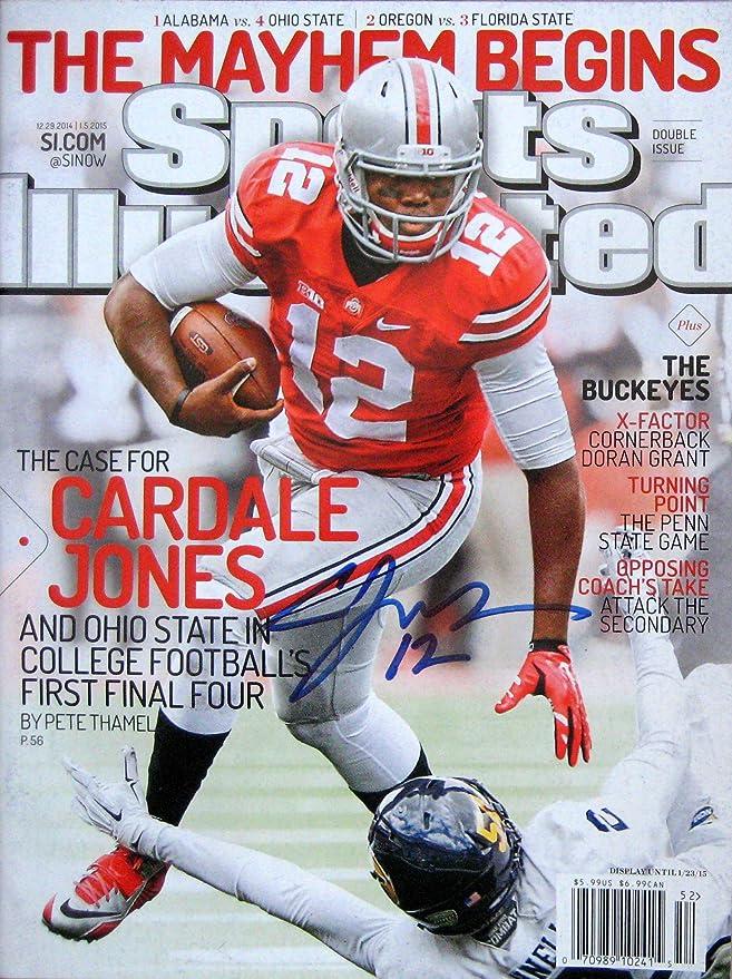 Cardale Jones OHIO STATE BUCKEYES autographed Sports Illustrated ...
