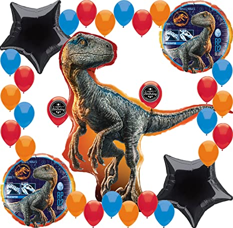 Amazon Com Jurassic World Fallen Kingdom Birthday Party Supplies
