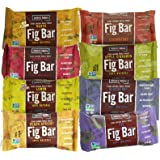 Nature's Bakery Whole Wheat Fig Bars 8-Flavor Variety Pack, All Natural Snack Food