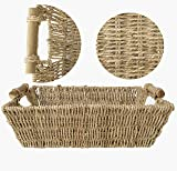 MadeTerra -Set of 2 Seagrass Wicker Baskets for