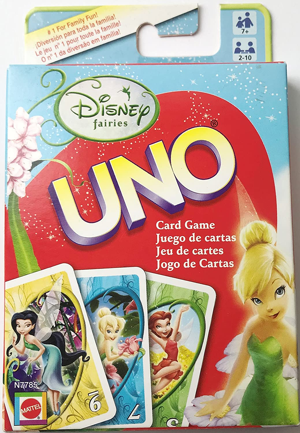 Disney Fairies UNO Card Game