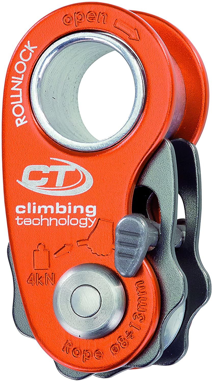 Climbing Technology RollnLock Pulley, Orange, One Size