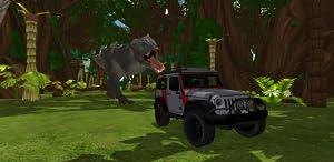 T-Rex Escape Dino Park - Jeep Chase Jurassic Dinosaur by Pepi Pepi Pepi
