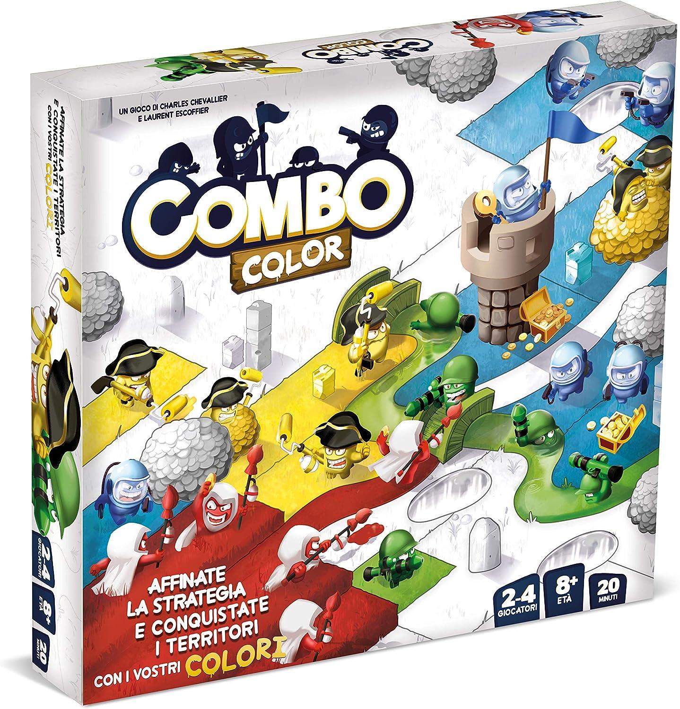 Asmodee- Combo Color-Juego de Mesa Edición en Italiano (8275 Italia): Amazon.es: Juguetes y juegos