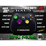 Epic Modz Xbox 360 Custom Multicolour Wireless Controller Cod Mod Call Of Duty, Battlefield + More !!
