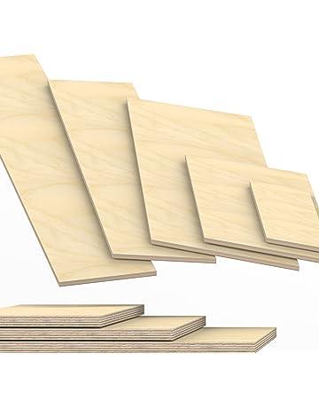 Sperrholz 15,00€//m² 8 mm Birke Sperrholzplatte Bastelholz 5 Platten 75 x 50 cm