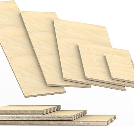 18mm Multiplex Zuschnitt wei/ß melaminbeschichtet L/änge bis 200cm Multiplexplatten Zuschnitte Auswahl 80x40 cm