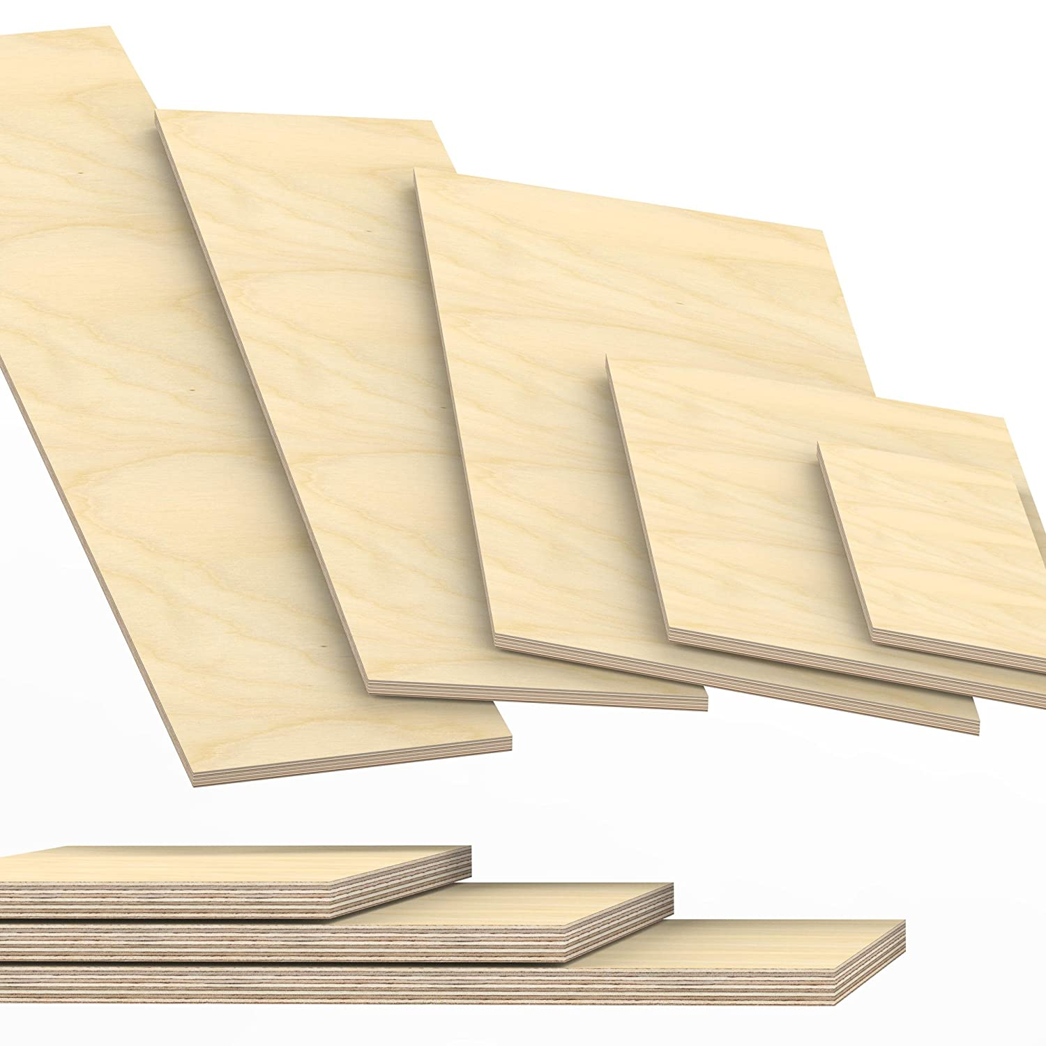 18mm Plywood Sheets cut to size up to 200 cm length multiplex board cuttings: 100x30 cm AUPROTEC