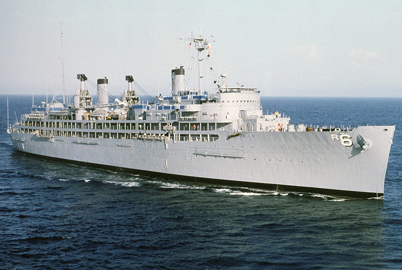 Home Comforts The U.S AR-6 Off San Diego USA California Navy Repair Ship USS Ajax .