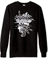 Crooks & Castles Men's Galactic Medusa Crew Sweatshirt