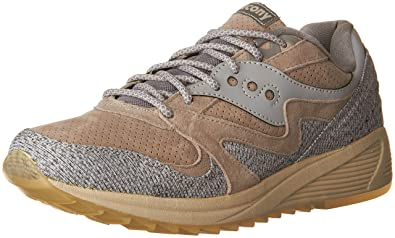 649957220bd7 Saucony Men s Grid 8000 Grey Ankle-High Fashion Sneaker - 5M