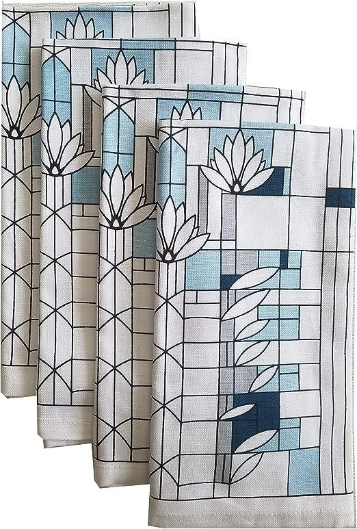 Jacquard Dishtowel Set of 2 Watering Can by Park Designs Flower Garden
