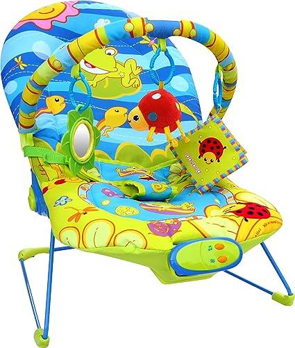Bebe Style Silla mecedora de lujo Hamaca Bebé Mundo Oceáno Música y Vibración