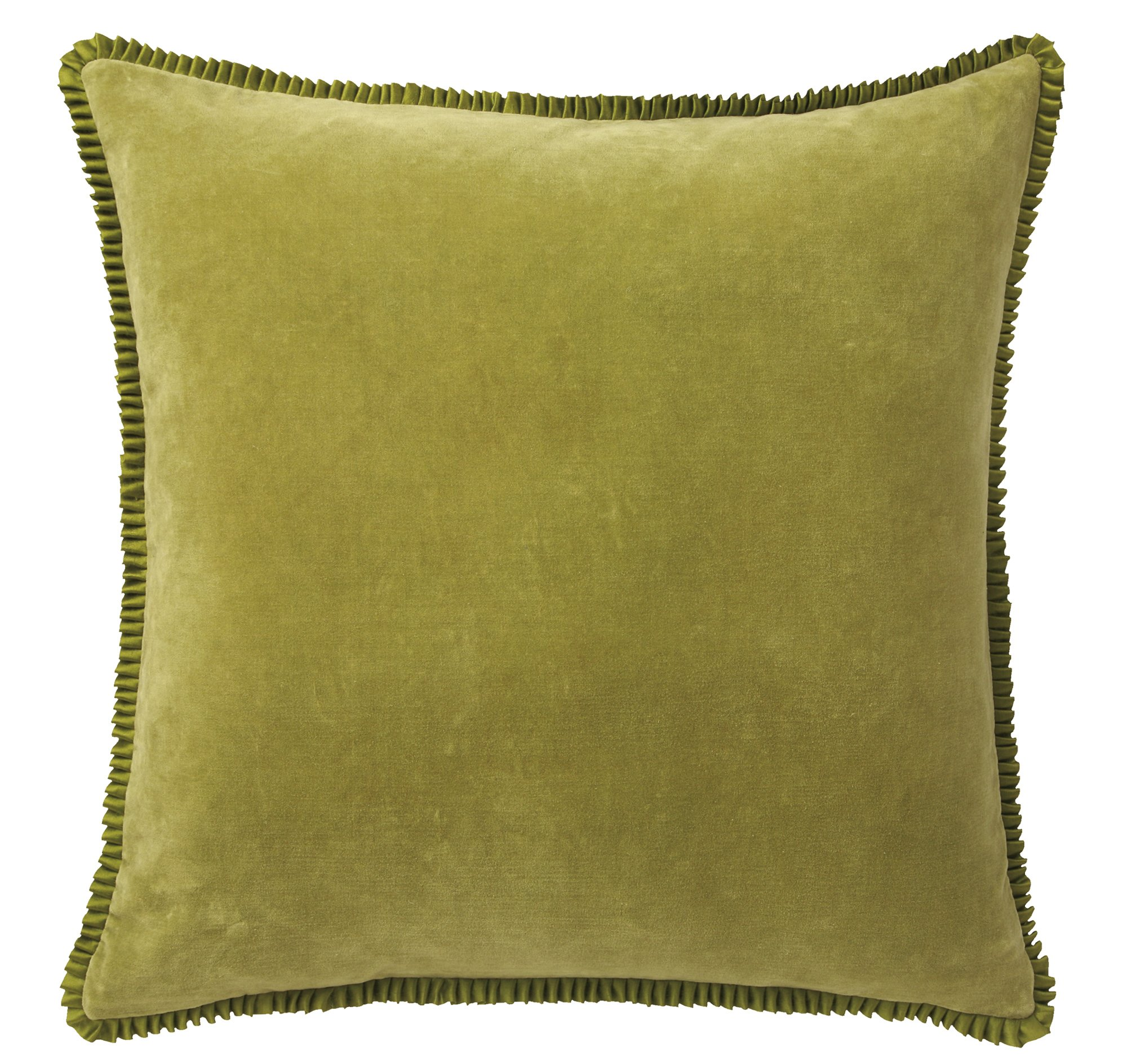 Company C Larissa Throw Pillow, 22'' x 22'', Grass by Company C (Image #1)