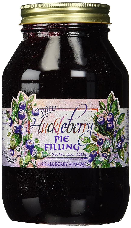 Wild Huckleberry Pie Filling Jar, 42oz