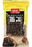 Dongwon Seetang, geröstet, gewürzt, insgesamt 48 Einzelpackungen (6 x 8 x 3,5 g Packung)