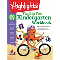The Big Fun Kindergarten Activity Book: Build skills and confidence through puzzles and early learning activities!