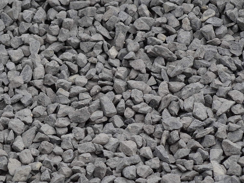 100 Kg de gravier Noir basalte concass/é pour Jardin all/ée et d/écoration /à lint/érieur et /à lext/érieur calcaire 6-10 mm
