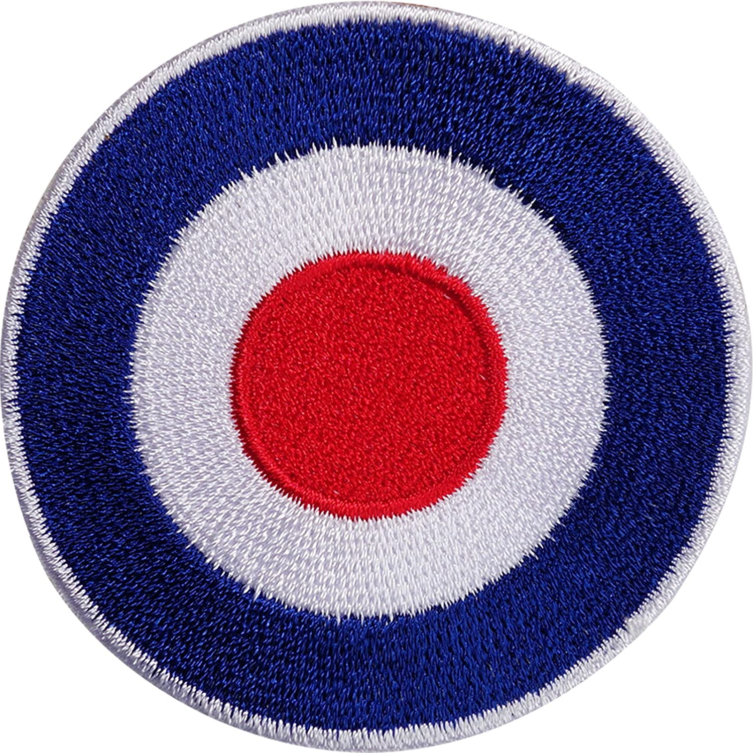 VESPA SCOOTER  /& AEROPLANE  Embroidered Iron Sew On Cloth Patch Badge APPLIQUE