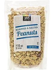 365 Everyday Value Roasted & Salted Peanuts, 16 oz