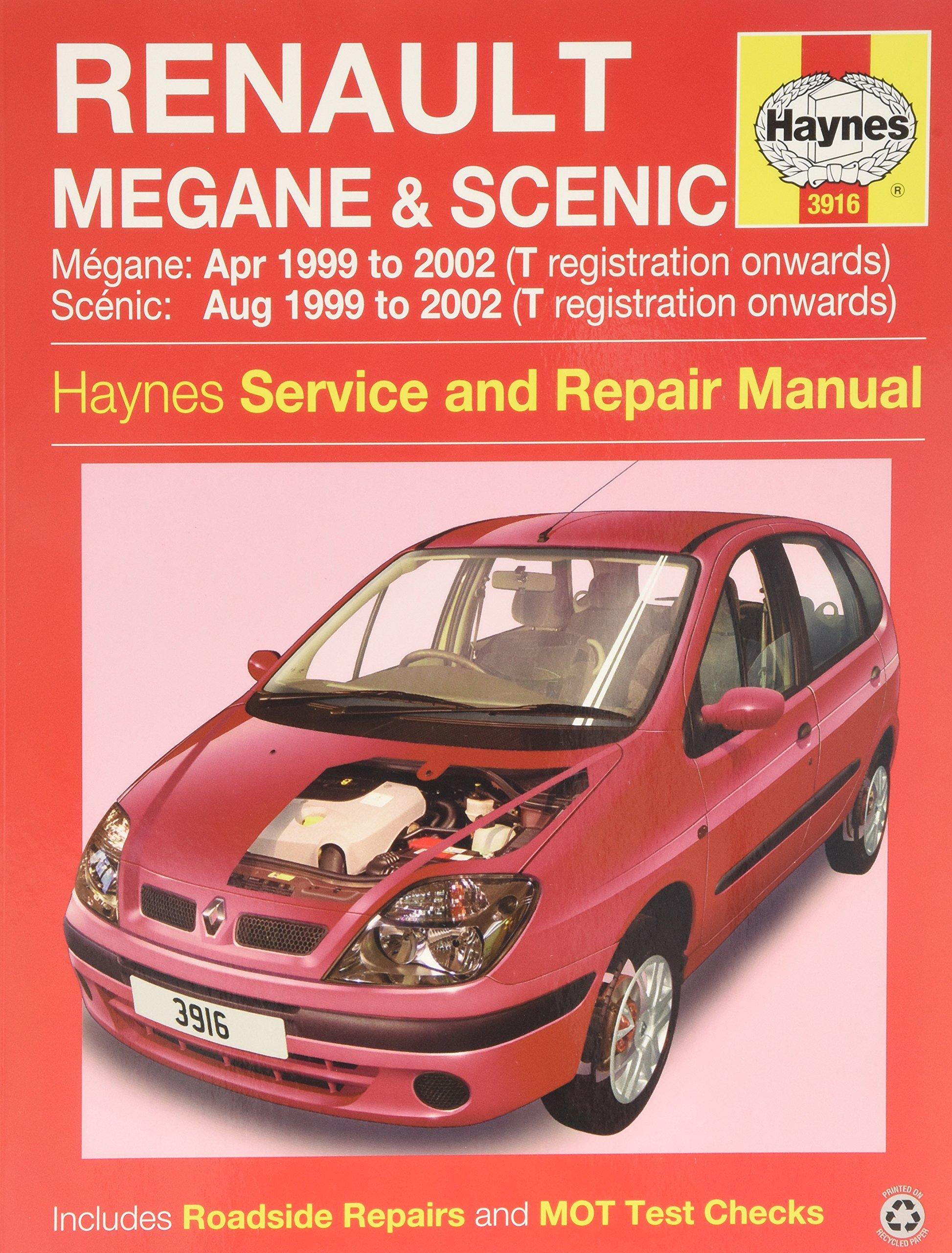 Renault Megane & Scenic Petrol & Diesel (Apr 99 - 02) Haynes Repair Manual:  Amazon.co.uk: Anon: 9781785210051: Books