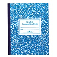 Roaring Spring Grade 2 Ruled Flex Cover Marble Comp Book 9 3/4'' x 7 3/4'', Sold per Book (77921)