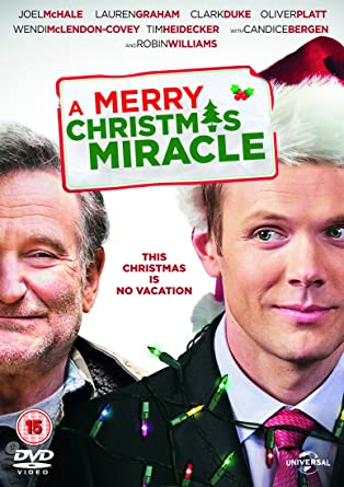 A Christmas Miracle.A Merry Christmas Miracle Dvd Amazon Co Uk Robin