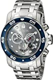 Invicta Men's 80059 Pro Diver Analog Display Swiss Quartz Silver Watch