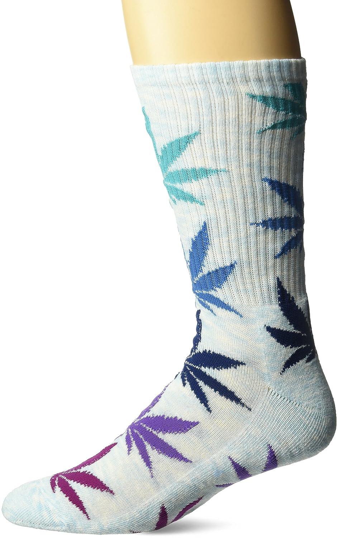 HUF Men's Melange Plantlife Socks Black O/S HUF-SK00215-BLACK