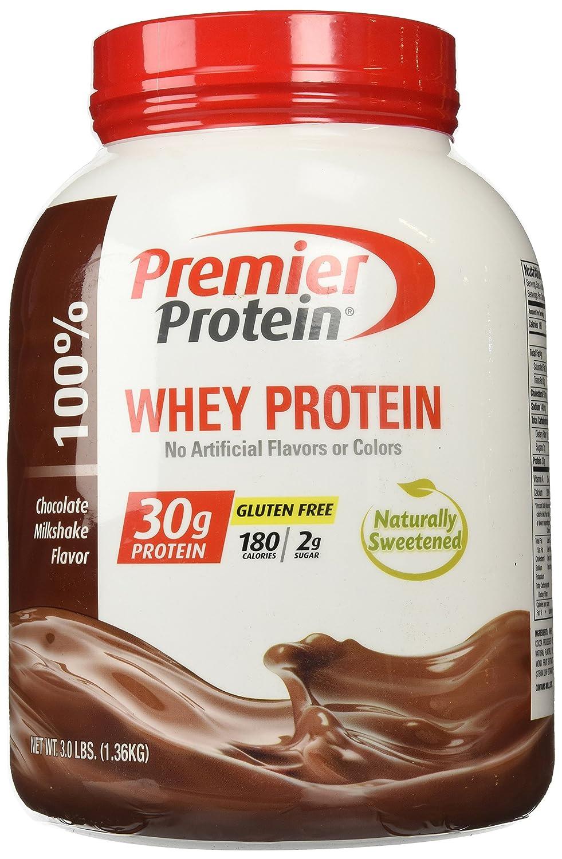 Amazon.com : Premier Protein Whey Powder, Chocolate Milkshake, 3.0 ...