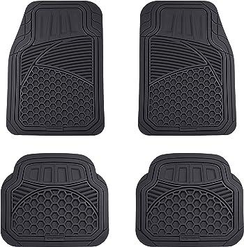 AUDI A5 4 PIECE BLACK CAR FLOOR MAT SET 06 on